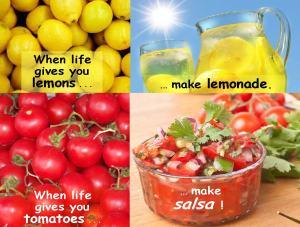 make salsa sign
